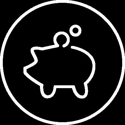 Fleet savings icon