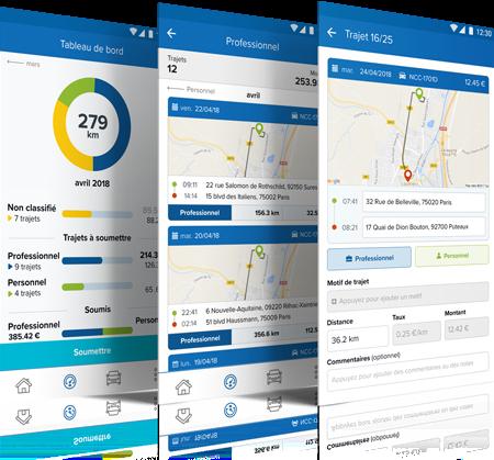 Masternaut-Solutions-ES-Smarter-Driver Informes de kilometraje en su telefono movil