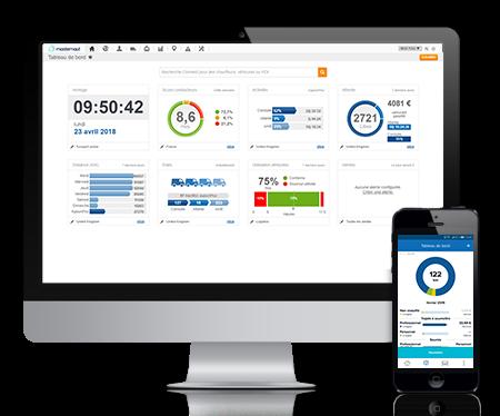 Masternaut Solutions FR Solutions de gestion de flotte