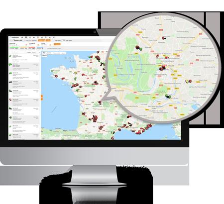 Masternaut Solutions FR Solutions de gestion de flotte geolocalisation de vehicules