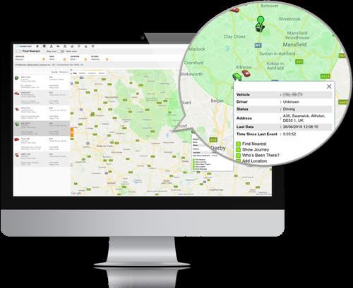 Online vehicle management