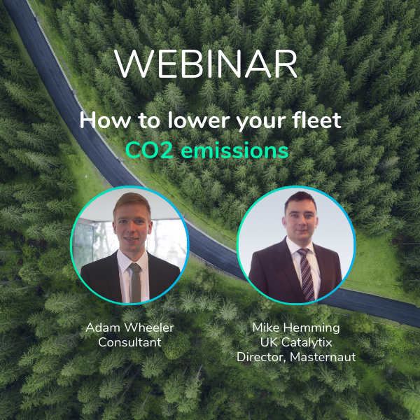 Masternaut Fleet CO2 certification webinar hosts
