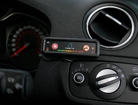 Driving behaviour hardware