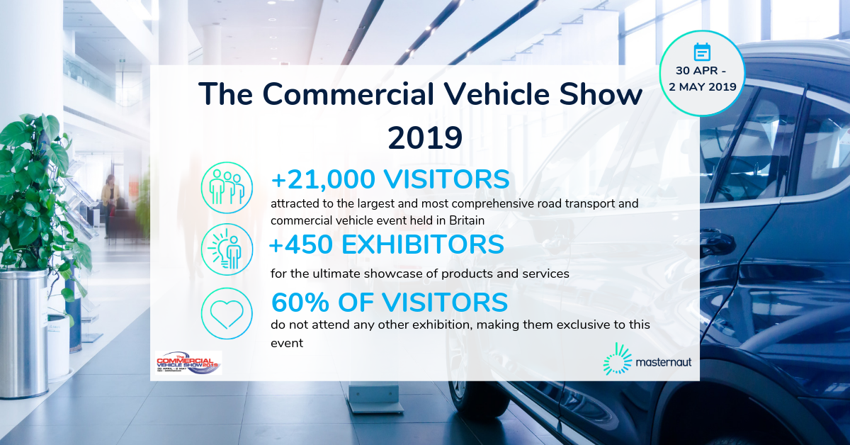 Masternaut Commercial Vehicle show event facts