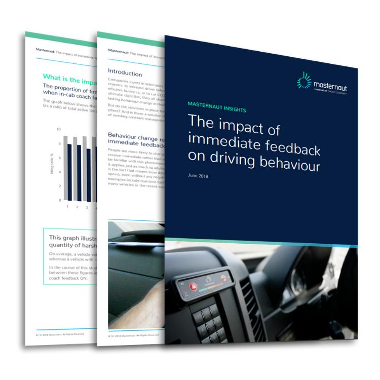 Masternaut Whitepaper The impact of immediate feecdback on driving behaviour